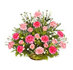 pink roses bunch delivery Hyderabad